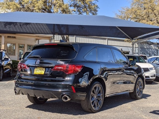 2019 Acura Mdx Sh Awd With A Spec Package In San Antonio Tx New