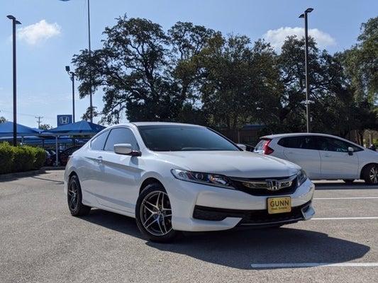 2016 Honda Accord Coupe Lx S In San Antonio Tx Gunn Acura